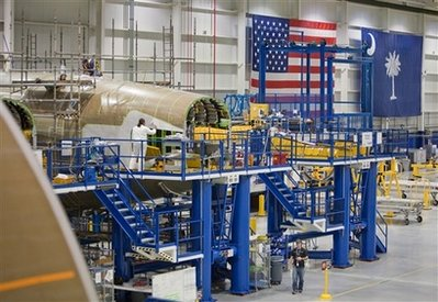 Boeing 787 Plant