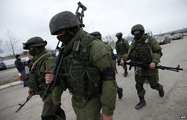 "Russia's annexation of Crimea last year caught almost everyone off guard. The Russian military disguised its actions, and denied them - but those ""little green men"" who popped up in the Black Sea peninsula were a textbook case of the Russian practice of military deception - or maskirovka."