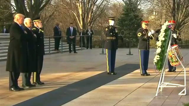 wreath-laying