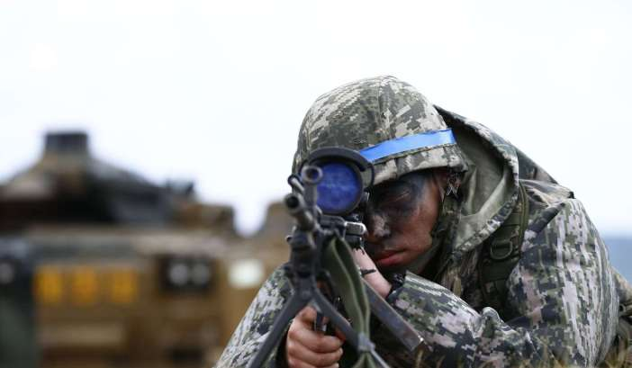 South Korea Foal Eagle annual Foal Eagle exercises in Pohang